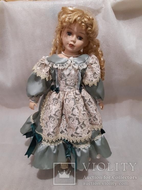 Кукла фарфоровая (лот 1), фото №2