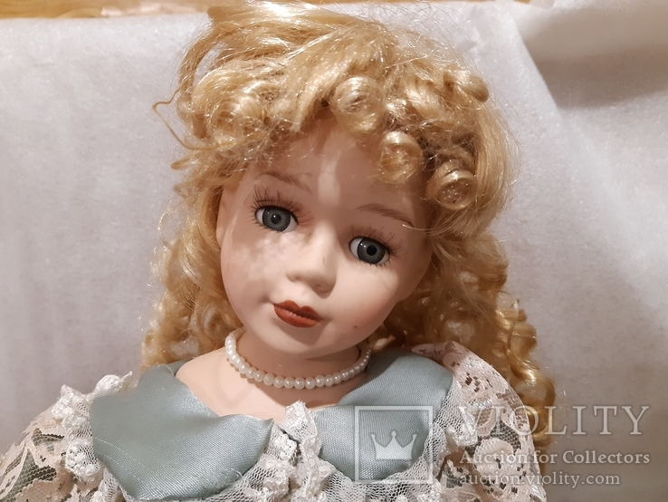 Кукла фарфоровая (лот 1), фото №4
