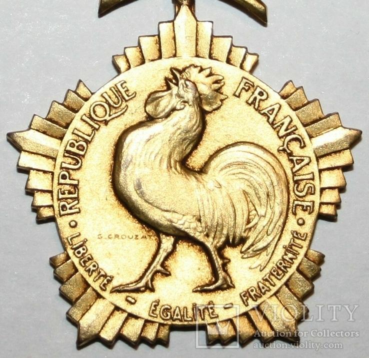 """Почётная медаль чести """"Департаментов и Коммун Франции"""" I степени (Франция), фото №3"""