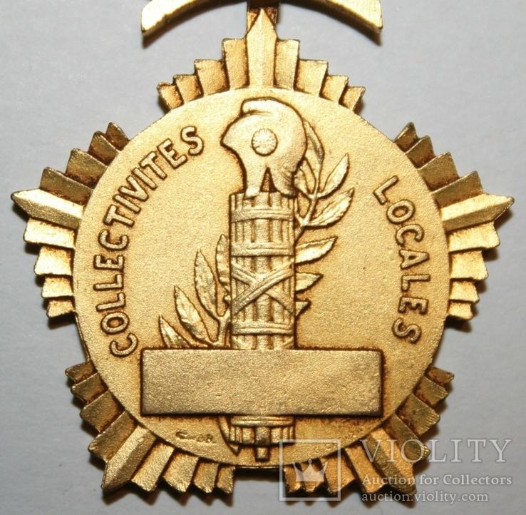 """Почётная медаль чести """"Департаментов и Коммун Франции"""" I степени (Франция), фото №6"""