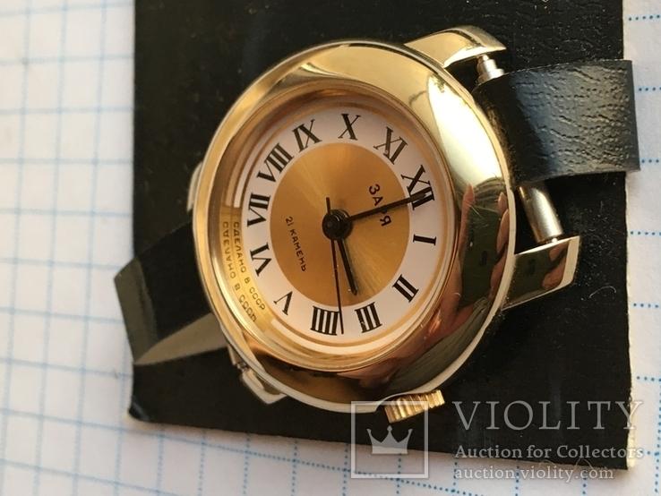 Часы Заря 2009В новые Ау с коробком и паспортом номерные, фото №6