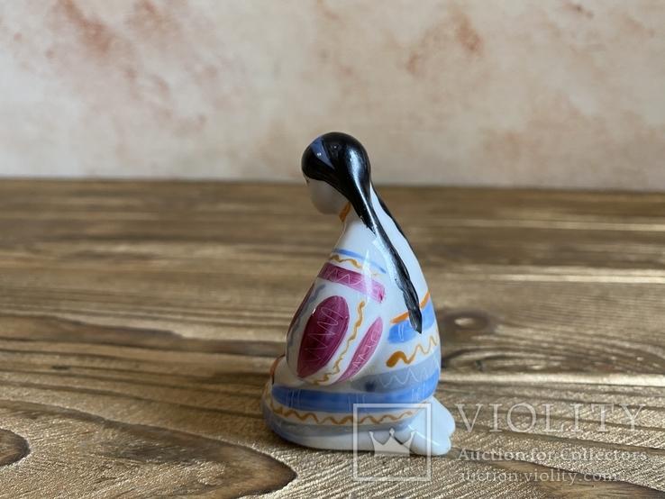 Скульптура-миниатюра - Украиночка с венком.Киев, фото №5