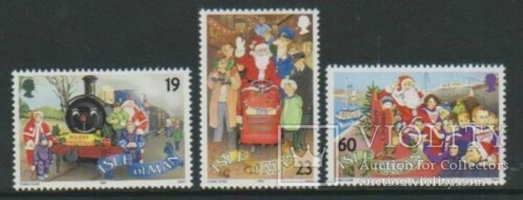 О-в Мэн 1994 Рождество