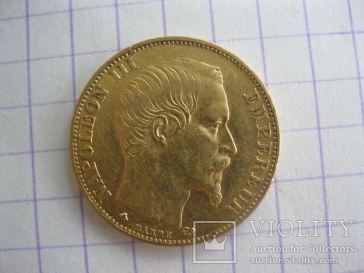 20 франков 1859 год