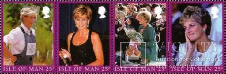 О-в Мэн 1998 принцесса Диана