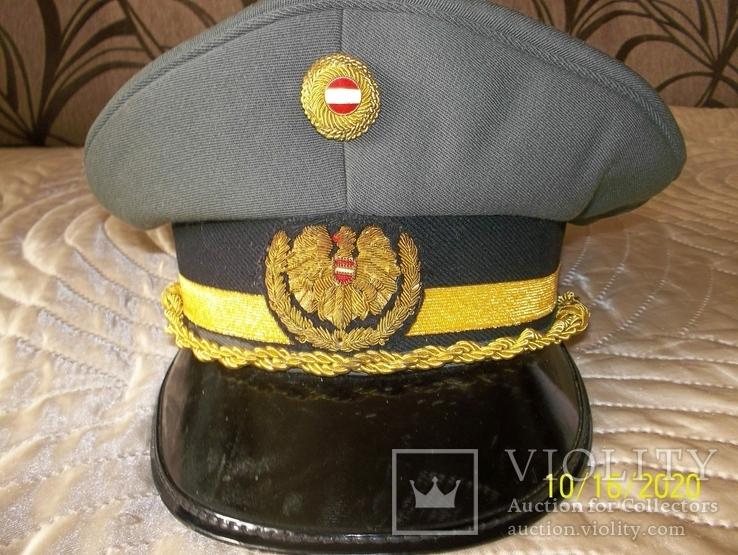 Фуражка  генеральская   австрийская  армия. раз. 58., фото №2