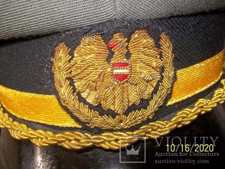 Фуражка  генеральская   австрийская  армия. раз. 58., фото №4