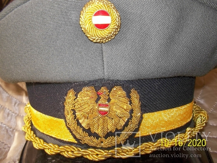 Фуражка  генеральская   австрийская  армия. раз. 58., фото №6