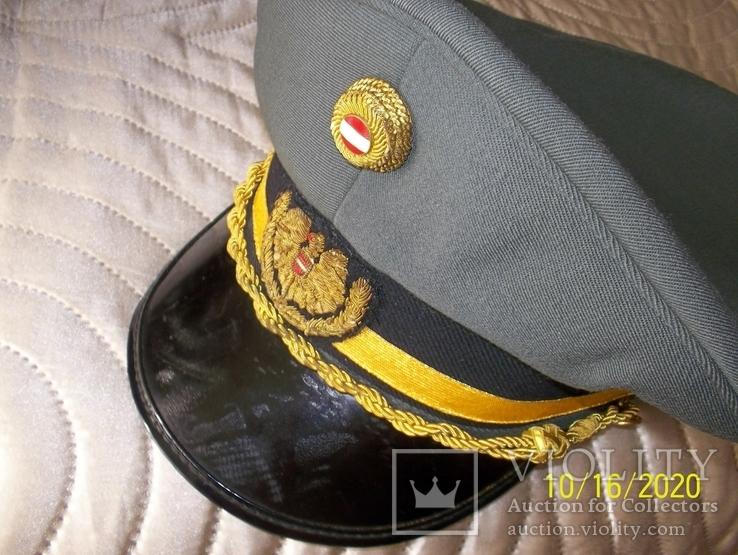 Фуражка  генеральская   австрийская  армия. раз. 58., фото №8