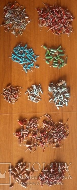 Конденсаторы разные (в основном все новые) лот 2, фото №2