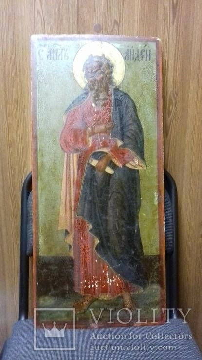 Икона Апостол Андрей 68-31 см., фото №6