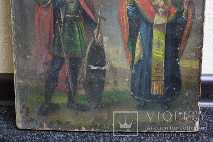 Икона  Св.  Иоань  и Св.  Корнилий  сотник, фото №4