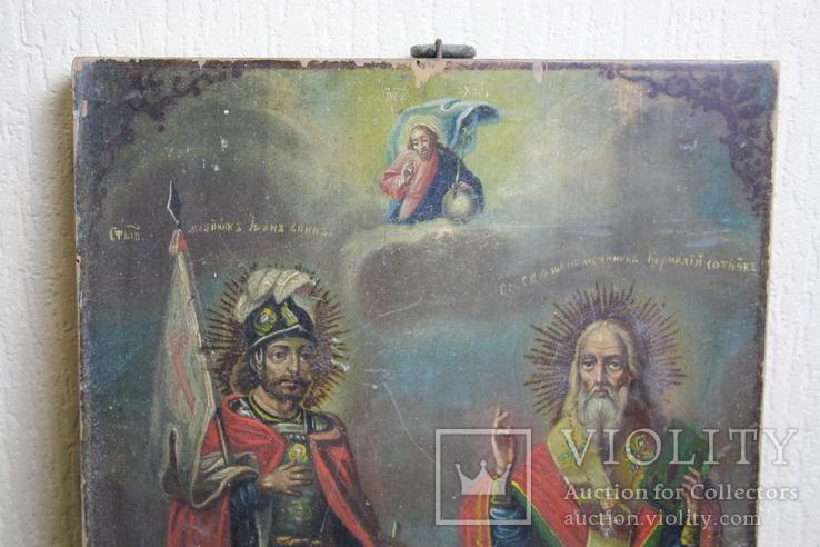 Икона  Св.  Иоань  и Св.  Корнилий  сотник, фото №12