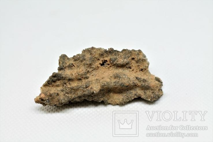 Фрагмент фульгурита, 7,9 грам, з серитфікатом автентичності, фото №5
