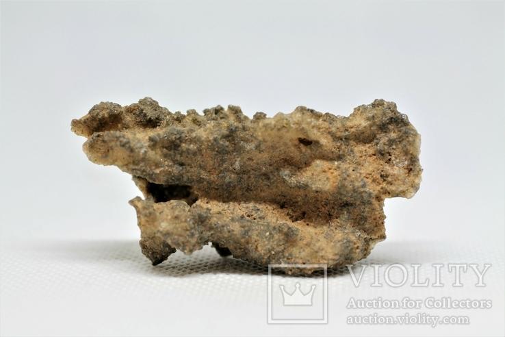 Фрагмент фульгурита, 7,9 грам, з серитфікатом автентичності, фото №2