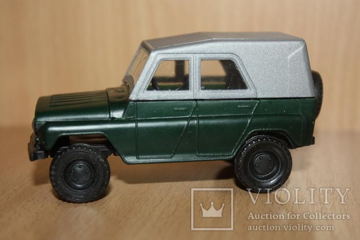 Модель-копия УАЗ-469 пластмасса 1к43 Херсон в упаковке, фото №3