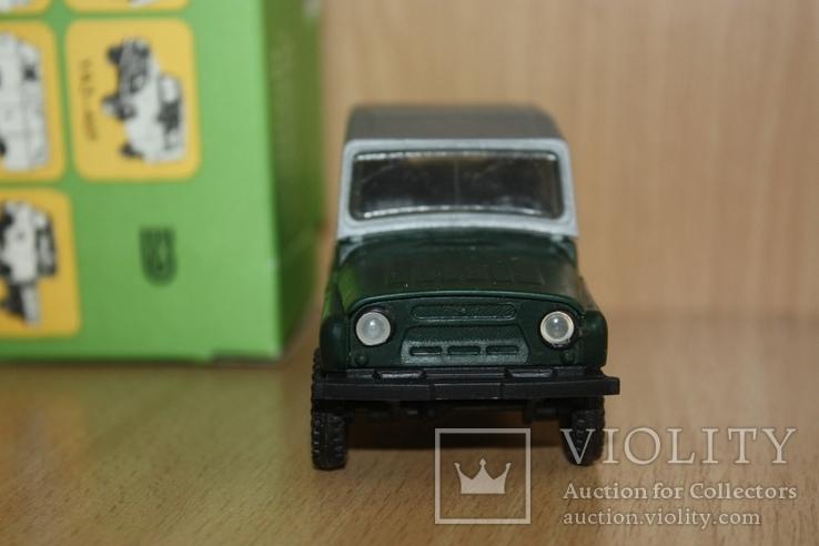 Модель-копия УАЗ-469 пластмасса 1к43 Херсон в упаковке, фото №5