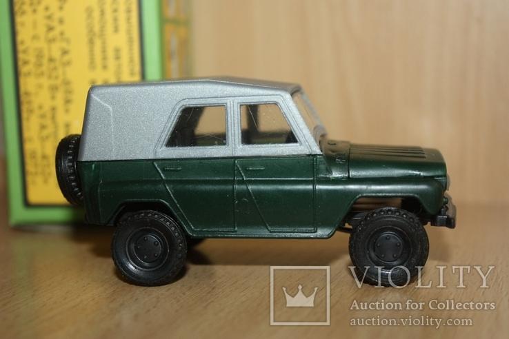 Модель-копия УАЗ-469 пластмасса 1к43 Херсон в упаковке, фото №7