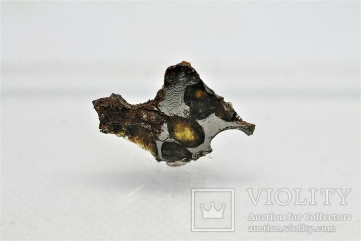 Залізо-кам'яний метеорит Springwater 1,36 г, з сертифікатом автентичності, фото №5