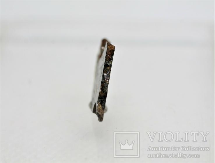 Залізо-кам'яний метеорит Springwater 1,36 г, з сертифікатом автентичності, фото №6