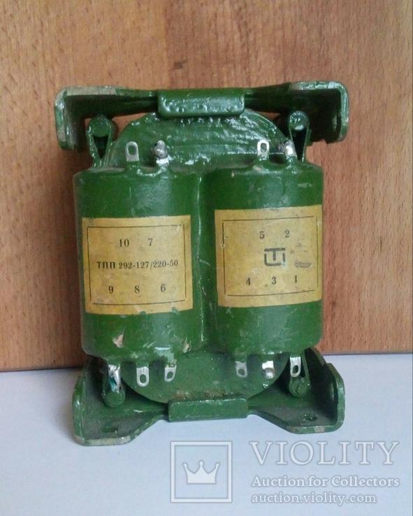 Трансформатор ТПП 292-127/220-50, фото №2
