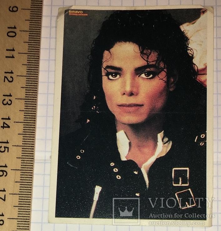 Календарик BRAVO Michael Jackson, 1990 г. /  Майкл Джексон, фото №3