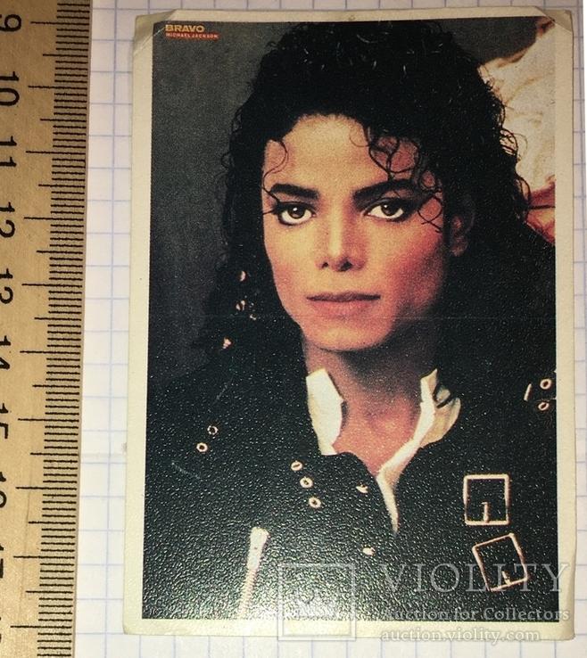 Календарик BRAVO Michael Jackson, 1990 г. /  Майкл Джексон, фото №2