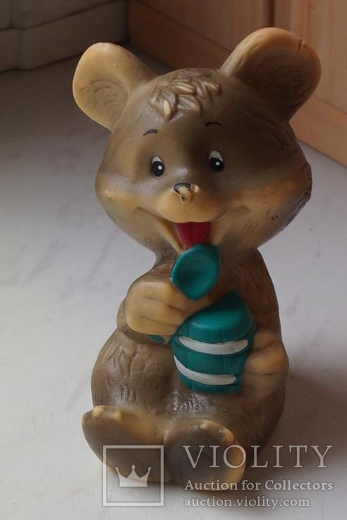 Ведмедик гумовий . СРСР., фото №2