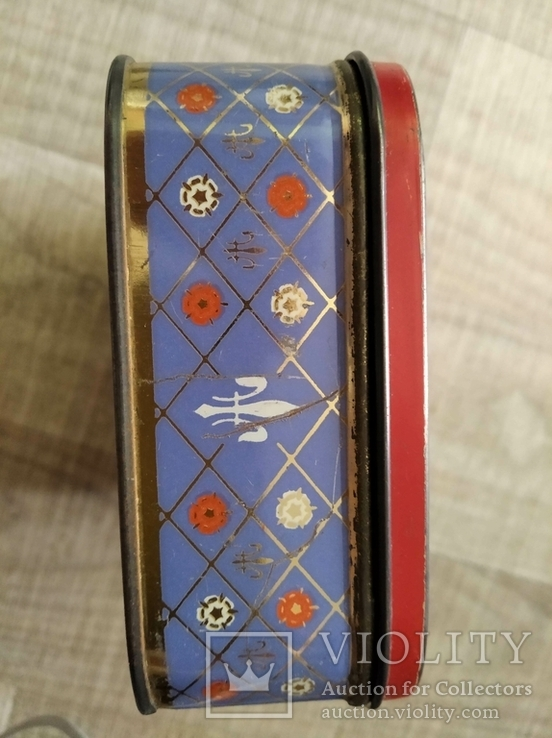 Коробка Edward Sharp and Sons Ltd Queen Elizabeth королева Елизавета 50 годы, фото №6