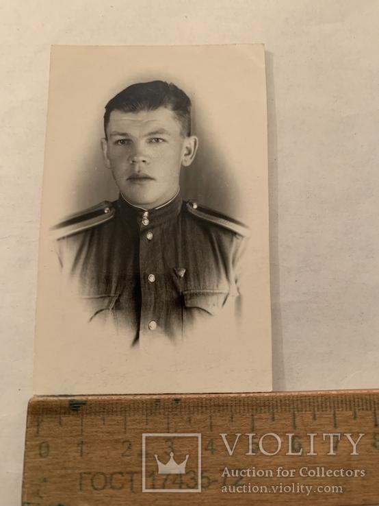 Солдат 50х годов подписаная, фото №2
