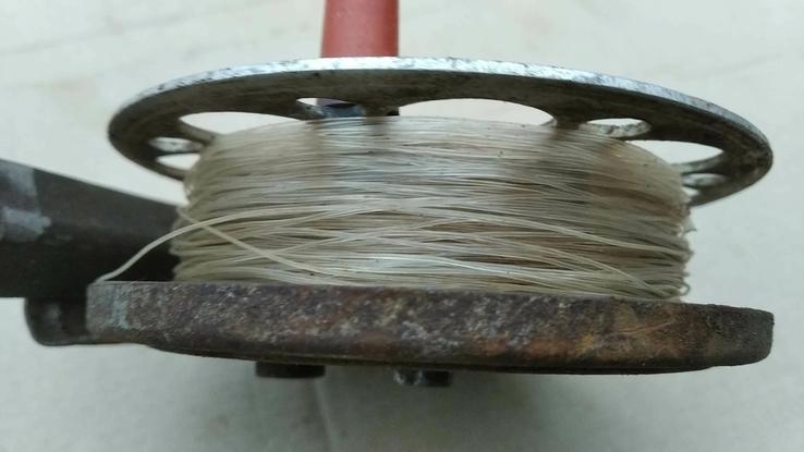 Катушка с леской из СССР, фото №4