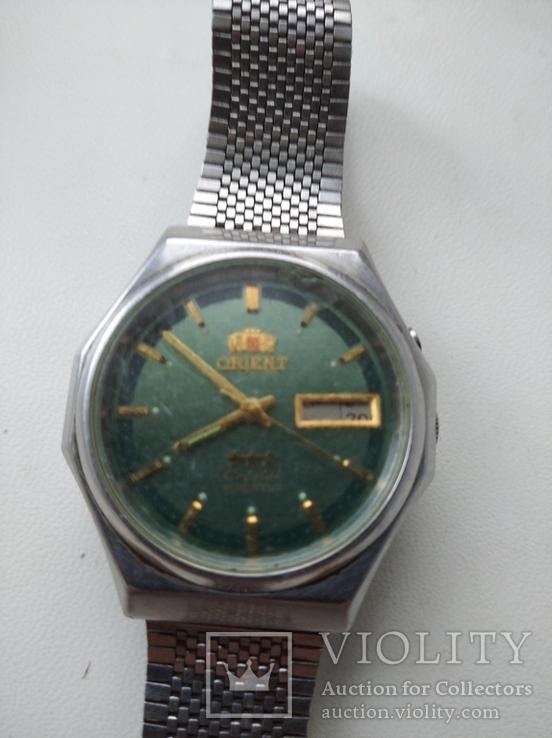 Японские часы ORIENT три звезды, фото №2