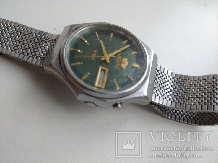 Японские часы ORIENT три звезды, фото №4