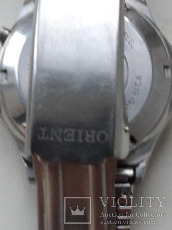 Японские часы ORIENT три звезды, фото №8