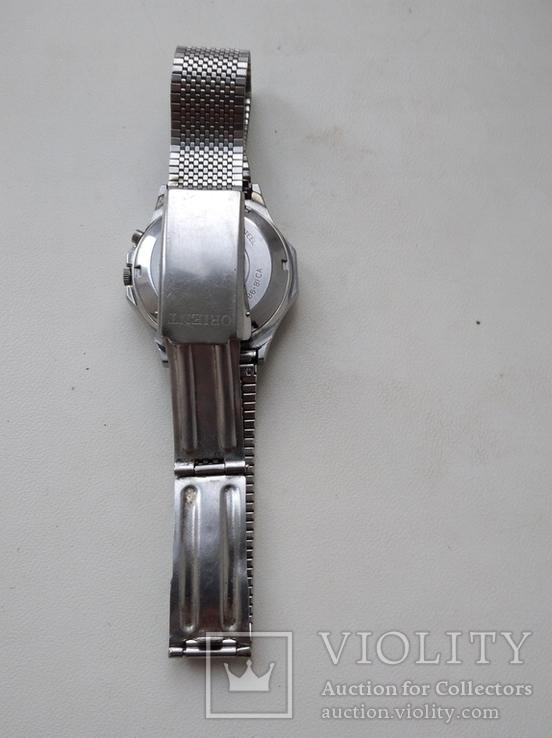 Японские часы ORIENT три звезды, фото №9