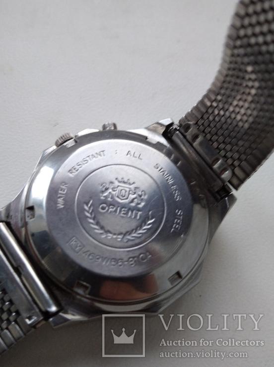 Японские часы ORIENT три звезды, фото №11