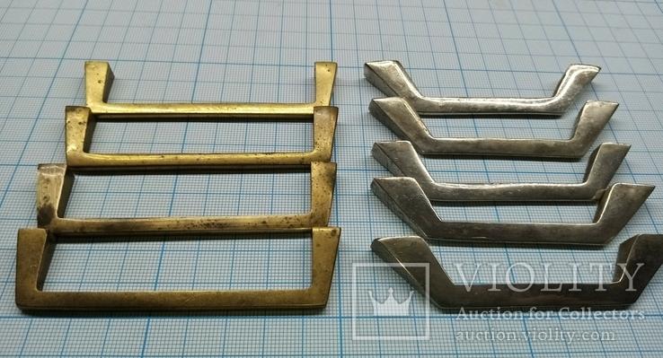 Ручки мебельные латунные, фото №4