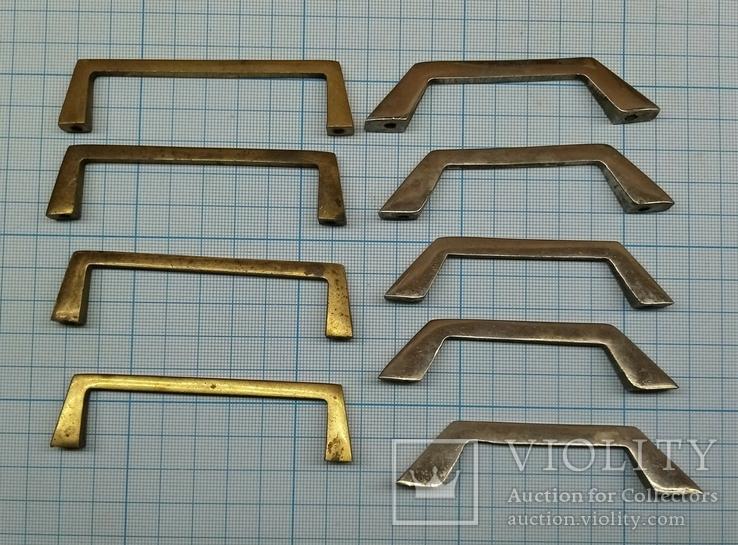 Ручки мебельные латунные, фото №5