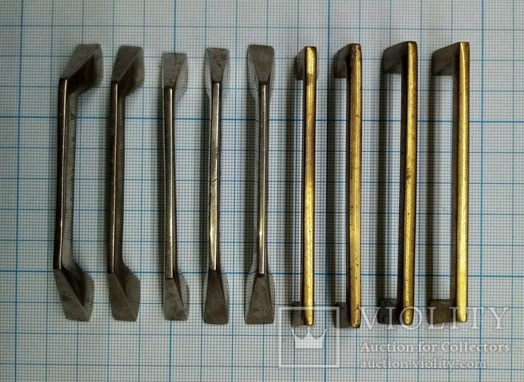 Ручки мебельные латунные, фото №6