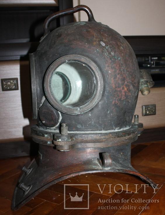 """Водолазный шлем 1955 г.""""трехболтовка."""", фото №3"""