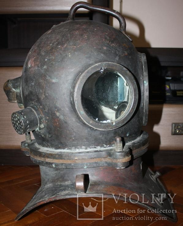"""Водолазный шлем 1955 г.""""трехболтовка."""", фото №5"""