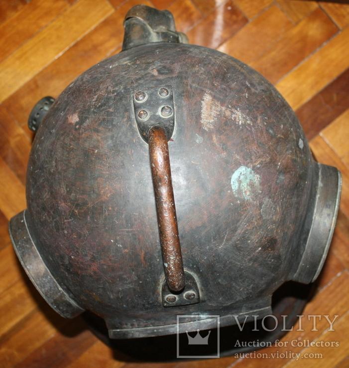 """Водолазный шлем 1955 г.""""трехболтовка."""", фото №6"""