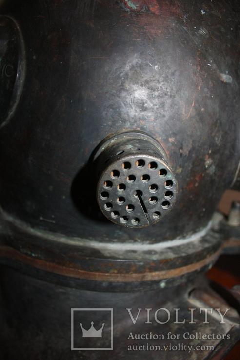 """Водолазный шлем 1955 г.""""трехболтовка."""", фото №10"""