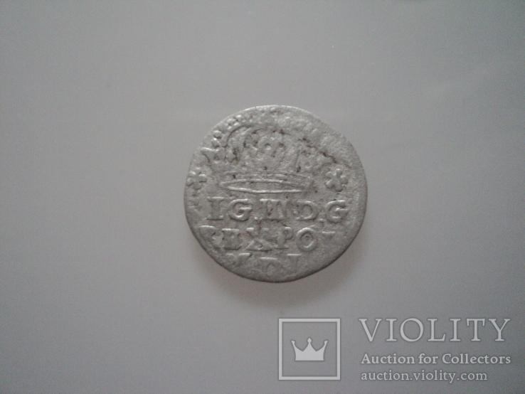 Грош коронный 1624 г, фото №5