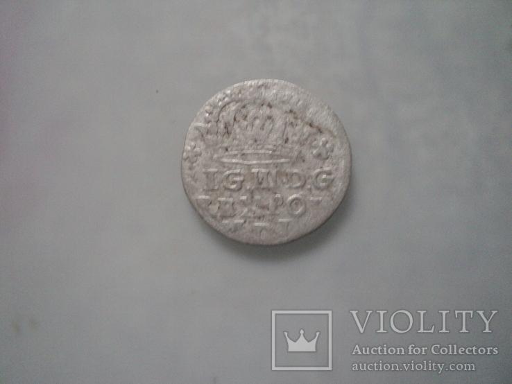 Грош коронный 1624 г, фото №6