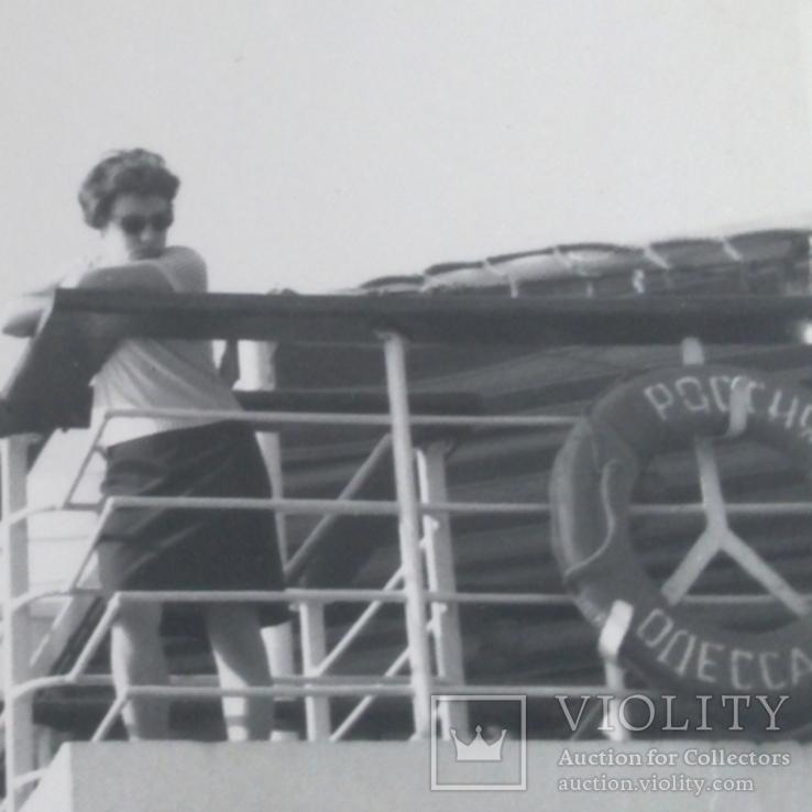 Теплоход Россия, порт приписки Одесса, женщина на борту, фото №6