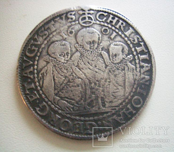 Саксония, талер 1601 года