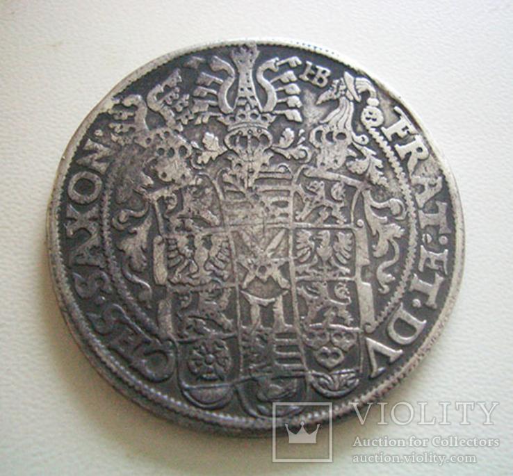Саксония, талер 1601 года, фото №3
