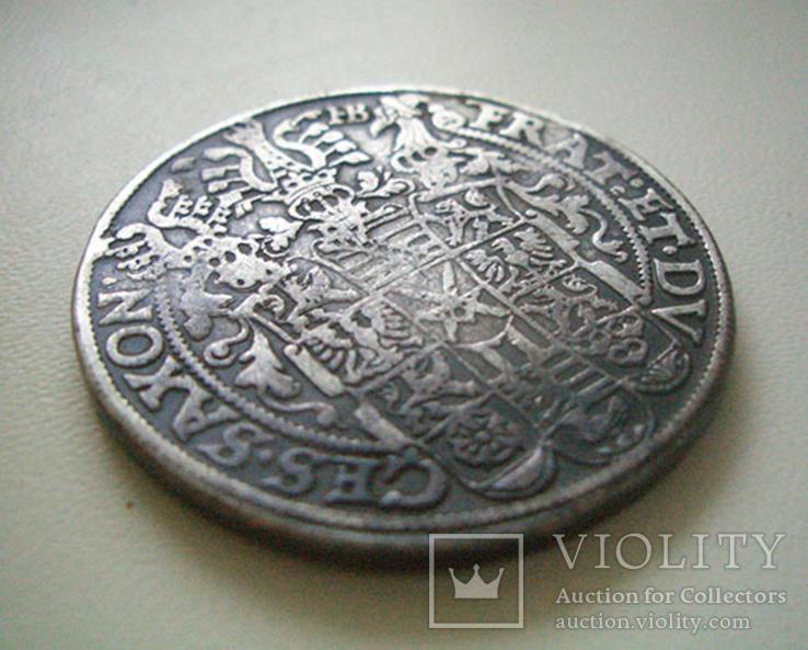 Саксония, талер 1601 года, фото №4