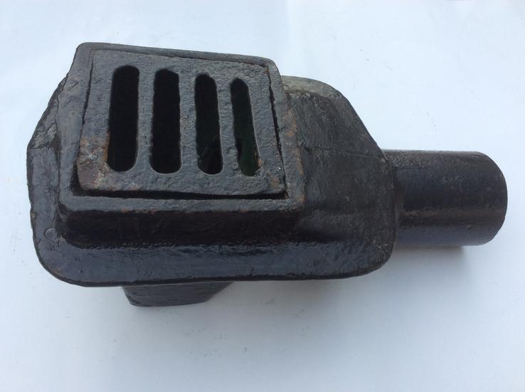 Чугунный трап для слива воды, 50 мм, фото №2